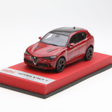 1/43 BBR Alfa Romeo Stelvio Quadrifoglio (Red) Enclosed Resin Car Model Limited 20