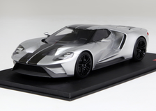 1/18 TSM TopSpeed Fort GT (Silver) Enclosed Car Model