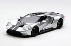 1/43 TSM TopSpeed Ford GT (Silver) Enclosed Diecast Car Model