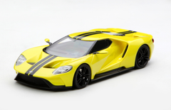 1/43 TSM TopSpeed Ford GT (Yellow) Enclosed Diecast Car Model
