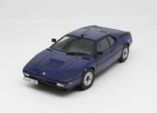 1/18 Norev BMW M1 (Blue) Diecast Car Model