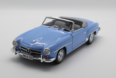 1/18 Norev Mercedes-Benz MB 190 SL 190SL Convertible (Blue) Diecast Car Model