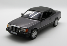 1/18 Norev 1990 Mercedes-Benz MB 300 CE 300CE Cabriolet (Grey) Diecast Car Model