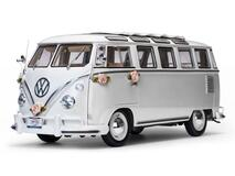 1/12 Sunstar 1962 Volkswagen VW T1 Wedding Bus Diecast Car Model