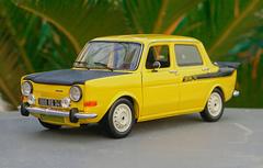 1/18 Norev Simca 1000 Rallye 2 SRT Diecast Car Model