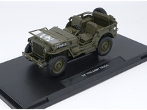 1/18 Welly FX Classic Jeep M151 WW2 Quarter 1/4 Ton Army Truck Diecast Car Model