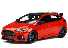 1/18 OTTO Ford Focus RS (Red) Enclosed Resin Car Model Limited 999