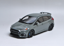 1/18 OTTO Ford Focus RS (Grey) Enclosed Resin Car Model Limited 999
