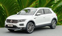 1/18 Dealer Edition Volkswagen VW T-ROC TROC (White) Diecast Car Model