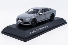1/43 Dealer Edition Audi RS7 Sportback (Grey) Diecast Car Model