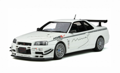 1/18 OTTO Nissan GTR GT-R R34 Mine'S MINES Enclosed Car Model Limited 2000