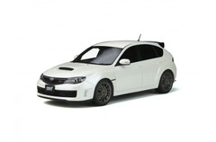 1/18 OTTO Subaru Impreza R205 (White) Enclosed Car Model Limited 2000