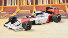1/18 MINICHAMPS Formula 1 F1 MCLAREN HONDA MP4/5B - AYRTON SENNA - WORLD CHAMPION 1990