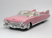 1/18 Maisto Premium Edition 1959 Cadillac Eldorado Biarritz convertible (Pink) Diecast Car Model