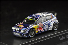 1/43 Dealer Edition Volkswagen VW Polo R WRC Diecast Car Model