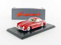1/43 Spark 1956 Mercedes-Benz MB 300SL 300 SL (Red) Diecast Car Model