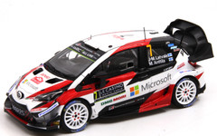 1/43 Spark Toyota Yaris WRC 3rd Rally Monte Carlo 2018 Car Model