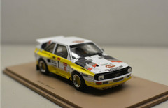 1/43 Spark Audi Quattro Sport Winner Pikes Peak 1985 Michele Mouton Car Model