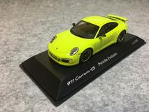 1/43 Spark Porsche Carrera 4S Porsche Exclusive (Yellow) Car Model Limited 500