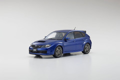 1/18 OTTO Kyosho Subaru STI R205 (Blue) Enclosed Car Model Limited 300