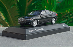 1/43 Dealer Edition BMW 3 Series GT 330i GT 340i GT (Black) Diecast Car Model