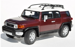 RARE 1/18 AUTOart Toyota FJ Cruiser (Red) Diecast Car Model