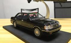 RARE 1/18 Dealer Edition Toyota Crown 133 (Black) Enclosed Resin Car Model