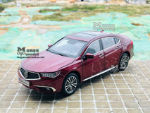 1/18 Dealer Edition 2018 Acura TLX (Red) Diecast Car Model