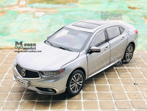 1/18 Dealer Edition 2018 Acura TLX (Silver) Diecast Car Model