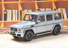 1/18 Dealer Edition Mercedes-Benz MB G-Class G-Klasse G500 (Silver Blue) Diecast Car Model