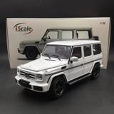 1/18 iScale Mercedes-Benz MB G-Class G-Klasse G500 (White) Diecast Car Model