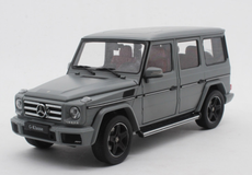 1/18 iScale Mercedes-Benz MB G-Class G-Klasse G500 (Matte Grey) Diecast Car Model