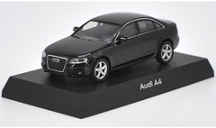1/64 Kyosho Audi A4 (Black) Diecast Car Model