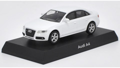1/64 Kyosho Audi A4 (White) Diecast Car Model