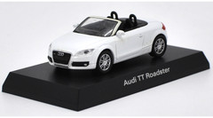 1/64 Kyosho Audi TT Roadster (White) Diecast Car Model