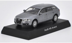 1/64 Kyosho Audi A6 Avant (Grey) Diecast Car Model