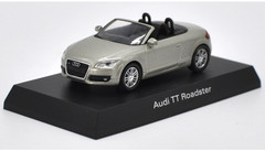 1/64 Kyosho Audi TT Roadster (Grey) Diecast Car Model