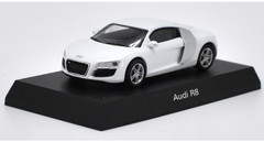 1/64 Kyosho Audi R8 (White) Diecast Car Model