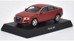1/64 Kyosho Audi S6 (Red) Diecast Car Model