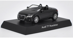 1/64 Kyosho Audi TT Roadster (Black) Diecast Car Model