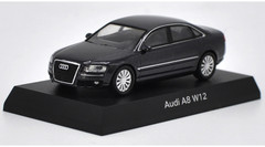 1/64 Kyosho Audi A8 W12 (Grey) Diecast Car Model