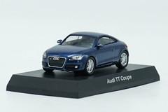 1/64 Kyosho Audi TT Coupe (Blue) Diecast Car Model