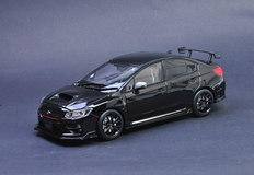 1/18 Sunstar Subaru WRX STI S207 (Black) Diecast Car Model