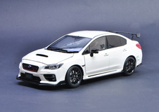 1/18 Sunstar Subaru WRX STI S207 (White) Diecast Car Model