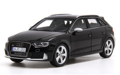 1/43 Spark Audi RS3 Sportback (Black) Diecast Car Model