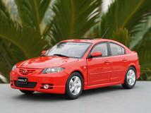 RARE 1/18 Dealer Edition 2003-2009 BK Series Mazda 3 / Axela (Red) Diecast Car Model