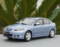 RARE 1/18 Dealer Edition 2003-2009 BK Series Mazda 3 / Axela (Silver Blue) Diecast Car Model