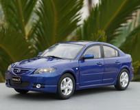 RARE 1/18 Dealer Edition 2003-2009 BK Series Mazda 3 / Axela (Blue) Diecast Car Model