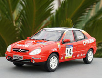 1/18 Dealer Edition Citroen Xsara WRC Diecast Car Model