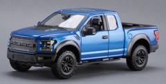 1/24 Maisto Ford F-150 F150 Raptor Street Version (Blue) Diecast Car Model
